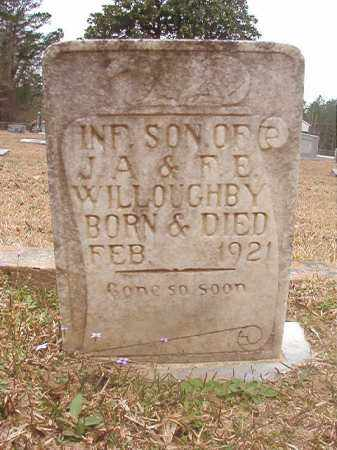WILLOUGHBY, INFANT SON - Union County, Arkansas | INFANT SON WILLOUGHBY - Arkansas Gravestone Photos