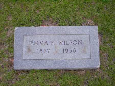 WILSON, EMMA F - Union County, Arkansas | EMMA F WILSON - Arkansas Gravestone Photos