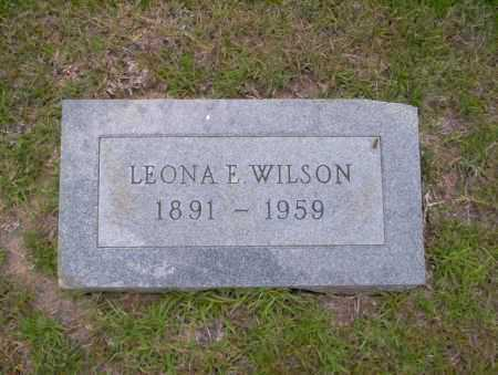 WILSON, LEONA E - Union County, Arkansas | LEONA E WILSON - Arkansas Gravestone Photos