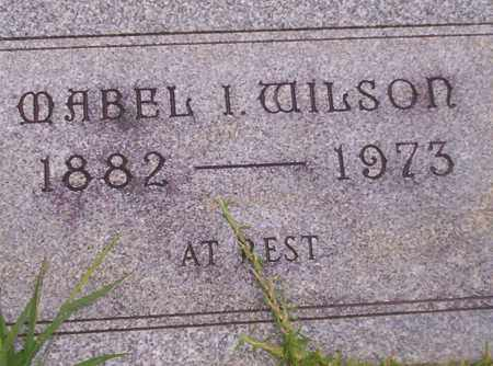 WILSON, MABEL I - Union County, Arkansas | MABEL I WILSON - Arkansas Gravestone Photos