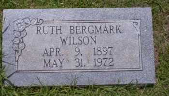 BERGMARK WILSON, RUTH - Union County, Arkansas | RUTH BERGMARK WILSON - Arkansas Gravestone Photos