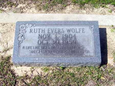 WOLFE, RUTH - Union County, Arkansas | RUTH WOLFE - Arkansas Gravestone Photos