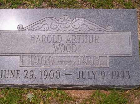 WOOD, HAROLD ARTHUR - Union County, Arkansas | HAROLD ARTHUR WOOD - Arkansas Gravestone Photos
