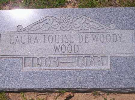 WOOD, LAURA LOUISE - Union County, Arkansas | LAURA LOUISE WOOD - Arkansas Gravestone Photos