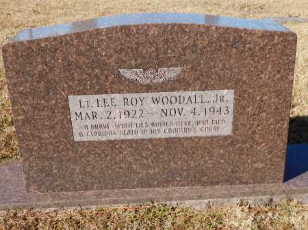 WOODALL, JR (VETERAN WWII), LEE ROY - Union County, Arkansas | LEE ROY WOODALL, JR (VETERAN WWII) - Arkansas Gravestone Photos