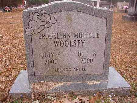 WOOLSEY, BROOKLYNN MICHELLE - Union County, Arkansas | BROOKLYNN MICHELLE WOOLSEY - Arkansas Gravestone Photos