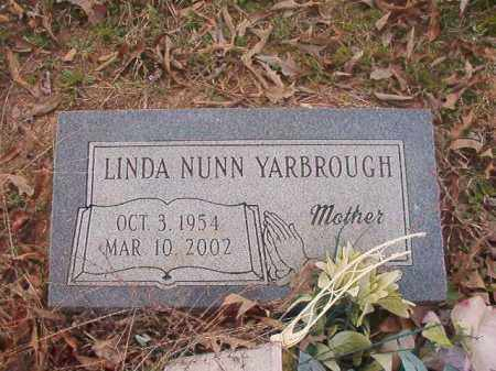NUNN YARBROUGH, LINDA - Union County, Arkansas | LINDA NUNN YARBROUGH - Arkansas Gravestone Photos