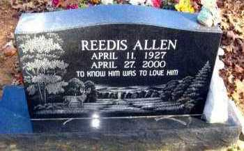 ALLEN, REEDIS - Van Buren County, Arkansas | REEDIS ALLEN - Arkansas Gravestone Photos