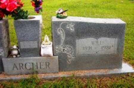 ARCHER, WILL - Van Buren County, Arkansas | WILL ARCHER - Arkansas Gravestone Photos