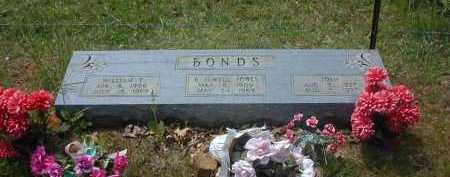 JONES BONDS, BESSIE JEWELL - Van Buren County, Arkansas | BESSIE JEWELL JONES BONDS - Arkansas Gravestone Photos