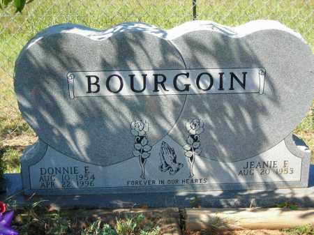 BOURGOIN, DONNIE E. - Van Buren County, Arkansas | DONNIE E. BOURGOIN - Arkansas Gravestone Photos