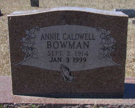 BOWMAN, ANNIE - Van Buren County, Arkansas | ANNIE BOWMAN - Arkansas Gravestone Photos