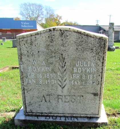 BOYKIN, W A - Van Buren County, Arkansas | W A BOYKIN - Arkansas Gravestone Photos