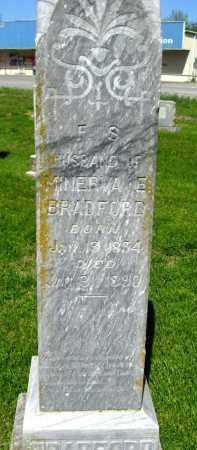BRADFORD, F S - Van Buren County, Arkansas | F S BRADFORD - Arkansas Gravestone Photos