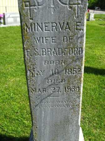 BRADFORD, MINERVA E - Van Buren County, Arkansas | MINERVA E BRADFORD - Arkansas Gravestone Photos