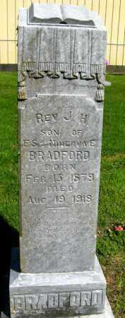 BRADFORD, REV  J  H - Van Buren County, Arkansas | REV  J  H BRADFORD - Arkansas Gravestone Photos