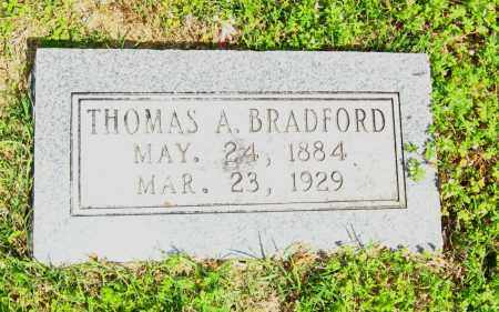 BRADFORD, THOMAS A - Van Buren County, Arkansas | THOMAS A BRADFORD - Arkansas Gravestone Photos