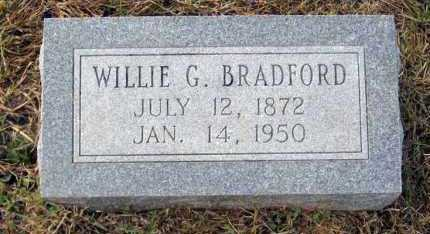 BRADFORD, WILLIE G - Van Buren County, Arkansas | WILLIE G BRADFORD - Arkansas Gravestone Photos