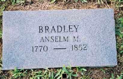 "BRADLEY, ANSELEM M  ""ANSELM"" - Van Buren County, Arkansas | ANSELEM M  ""ANSELM"" BRADLEY - Arkansas Gravestone Photos"