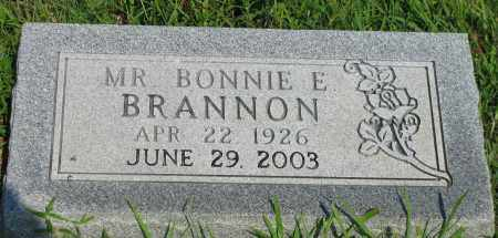 BRANNON, BONNIE E - Van Buren County, Arkansas | BONNIE E BRANNON - Arkansas Gravestone Photos