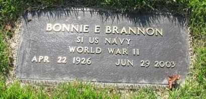 BRANNON (VETERAN WWII), BONNIE - Van Buren County, Arkansas | BONNIE BRANNON (VETERAN WWII) - Arkansas Gravestone Photos
