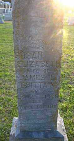 BRITTAIN, SUSAN ELISABETH - Van Buren County, Arkansas | SUSAN ELISABETH BRITTAIN - Arkansas Gravestone Photos