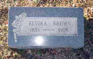 BROWN, ELVIRA - Van Buren County, Arkansas | ELVIRA BROWN - Arkansas Gravestone Photos