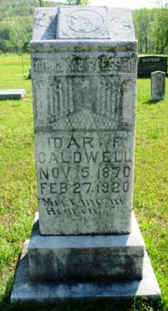 PISTOLE CALDWELL, IDA R. F. - Van Buren County, Arkansas | IDA R. F. PISTOLE CALDWELL - Arkansas Gravestone Photos