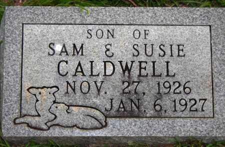 CALDWELL, INFANT SON - Van Buren County, Arkansas | INFANT SON CALDWELL - Arkansas Gravestone Photos