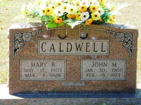 CALDWELL, MARY B. - Van Buren County, Arkansas | MARY B. CALDWELL - Arkansas Gravestone Photos