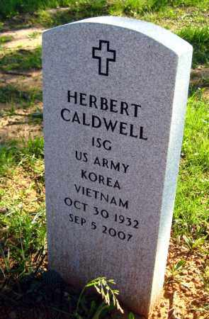 CALDWELL (VETERAN 2 WARS), HERBERT - Van Buren County, Arkansas | HERBERT CALDWELL (VETERAN 2 WARS) - Arkansas Gravestone Photos