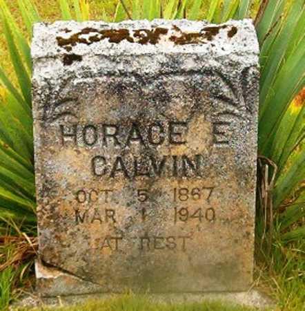 CALVIN, HORACE E - Van Buren County, Arkansas | HORACE E CALVIN - Arkansas Gravestone Photos