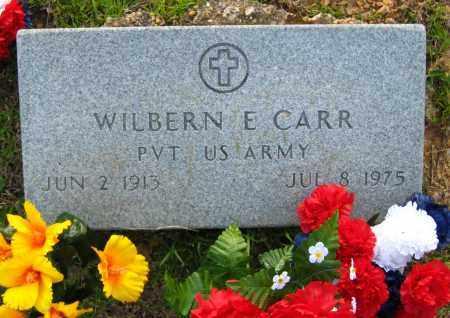 CARR  (VETERAN), WILBERN E - Van Buren County, Arkansas | WILBERN E CARR  (VETERAN) - Arkansas Gravestone Photos