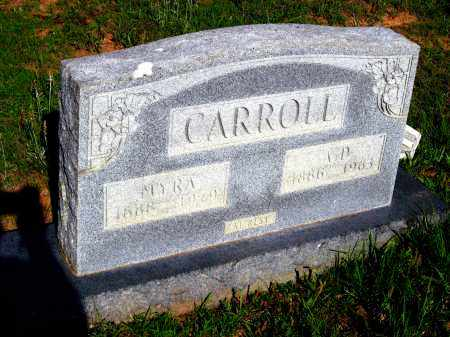 CARROLL, MYRA - Van Buren County, Arkansas | MYRA CARROLL - Arkansas Gravestone Photos