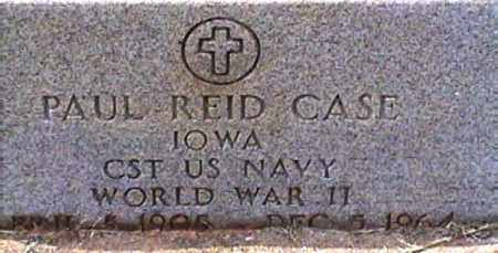 CASE  (VETERAN WWII), PAUL REID - Van Buren County, Arkansas | PAUL REID CASE  (VETERAN WWII) - Arkansas Gravestone Photos