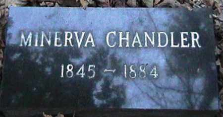 CHANDLER, MINERVA - Van Buren County, Arkansas | MINERVA CHANDLER - Arkansas Gravestone Photos