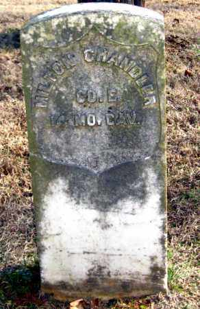 CHANDLER (VETERAN UNION), MILTON - Van Buren County, Arkansas | MILTON CHANDLER (VETERAN UNION) - Arkansas Gravestone Photos