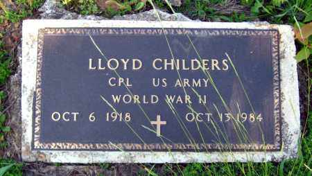 CHILDERS  (VETERAN WWII), LLOYD - Van Buren County, Arkansas | LLOYD CHILDERS  (VETERAN WWII) - Arkansas Gravestone Photos