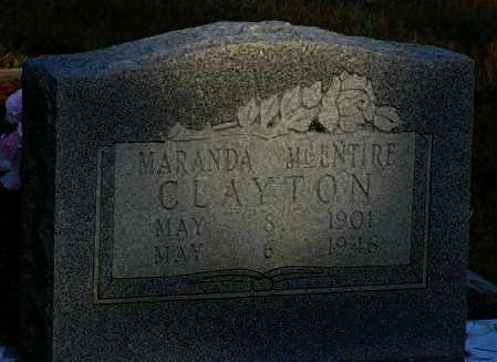 GILLAM CLAYTON, MARANDA - Van Buren County, Arkansas | MARANDA GILLAM CLAYTON - Arkansas Gravestone Photos