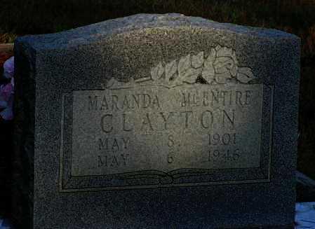 MCENTIRE CLAYTON, MARANDA - Van Buren County, Arkansas | MARANDA MCENTIRE CLAYTON - Arkansas Gravestone Photos