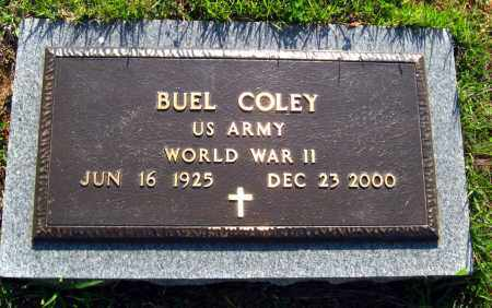 COLEY  (VETERAN WWII), ANTHONY BUEL - Van Buren County, Arkansas | ANTHONY BUEL COLEY  (VETERAN WWII) - Arkansas Gravestone Photos