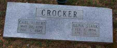 CROCKER, LUNA - Van Buren County, Arkansas | LUNA CROCKER - Arkansas Gravestone Photos