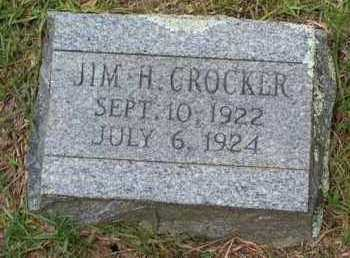 CROCKER, JIM H - Van Buren County, Arkansas | JIM H CROCKER - Arkansas Gravestone Photos
