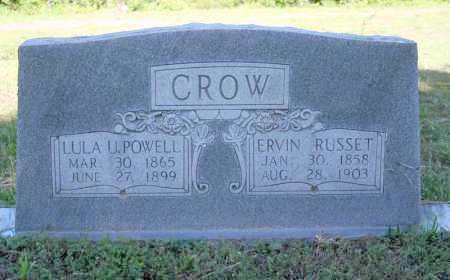 POWELL CROW, LULA U - Van Buren County, Arkansas | LULA U POWELL CROW - Arkansas Gravestone Photos