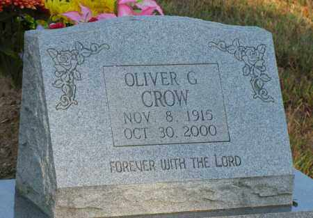 CROW, OLIVER G - Van Buren County, Arkansas | OLIVER G CROW - Arkansas Gravestone Photos