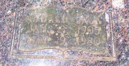 CULLUM, ANDREW JACK (CLOSEUP) - Van Buren County, Arkansas | ANDREW JACK (CLOSEUP) CULLUM - Arkansas Gravestone Photos