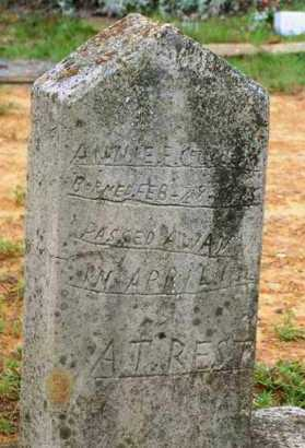 CULLUM, ANNIE E - Van Buren County, Arkansas | ANNIE E CULLUM - Arkansas Gravestone Photos