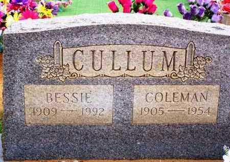 CULLUM, BESSIE - Van Buren County, Arkansas | BESSIE CULLUM - Arkansas Gravestone Photos