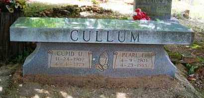 CULLUM, CUPID U - Van Buren County, Arkansas | CUPID U CULLUM - Arkansas Gravestone Photos