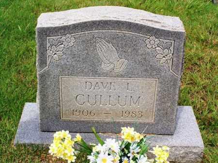 CULLUM, DAVE L - Van Buren County, Arkansas | DAVE L CULLUM - Arkansas Gravestone Photos